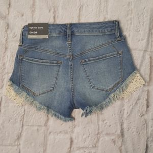 Mossimo  High-rise Super Stretch Shorts size 00/24